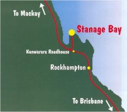 Stanage Bay, Accommodation, Fishing, Crabbing & Boat Hire